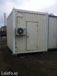 konteyner 40 tonluq - Azərbaycan: Konteyner satilir və ya icarəyə verilir. Uzunlugu 3m 70sm eni 2m 70sm