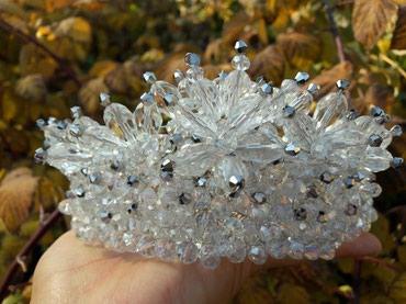 Свадебная корона ручной работы на заказ в Бишкек