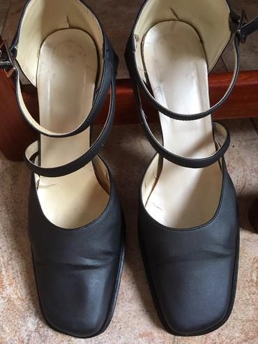 Italijanske sandale br. 39, dužina gazišta 25,5cm, visina  štikle - Belgrade