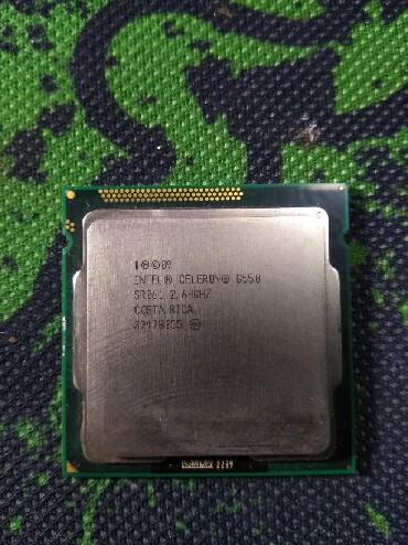 Процессоры intel celeron - Кыргызстан: Intel Celeron G550 Процессор для 1155 сокета 2 ядра 2 потока 65w 2.60G