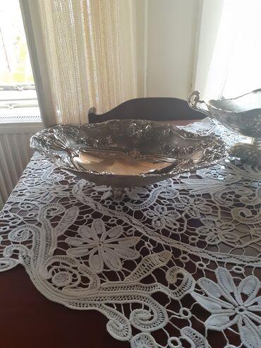 Kuća i bašta - Kovacica: Prodajem posrebrene stilske činije