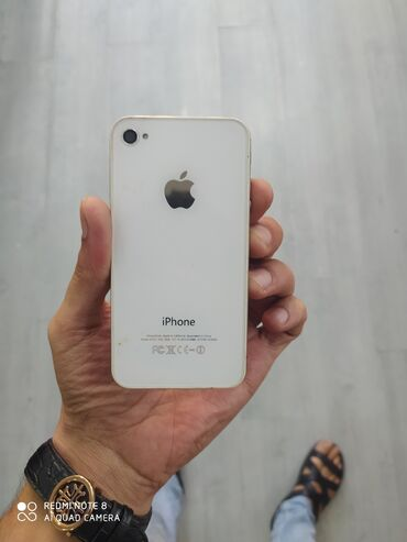 Apple Iphone - Azərbaycan: İşlənmiş iPhone 4S Ağ