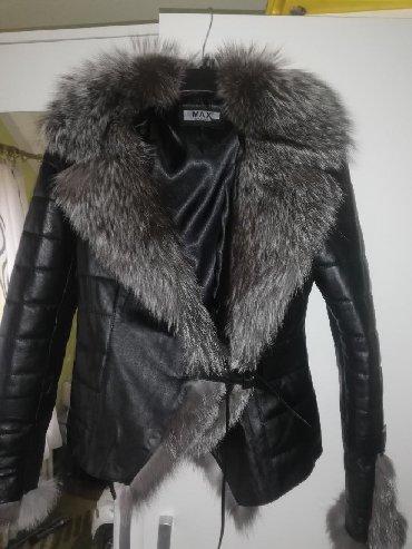 Jakna krzno - Sabac: Kozna jakna sa krznom rakunaNove jakne sa kvalitetnim krznom rakuna