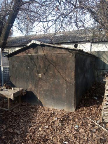 Гараж металлический разборный 4м *6м. Продаю без места, самовывоз. в Бишкек