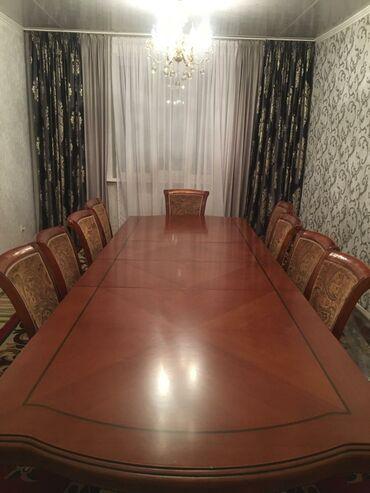 стол для гостиной в Кыргызстан: Продаю большой стол со стульями