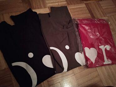 Ženske majice - Novo - Sivac: 900din Pamuk elastin