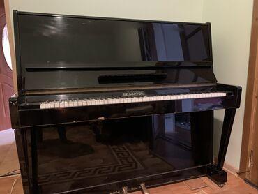 репетитор пианино в Кыргызстан: Продаётся. Фортепиано Беларусь. 2 педали, клавиши все работают. Б/у, в