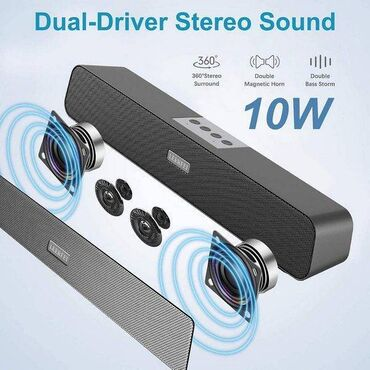 Колонка-акустика-Soundbar Bluetooth E-91 (AUX, USB/micro SD до 32GB, M