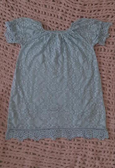 Итальянское платье Расцветка : голубое Размер: MКачество отличное