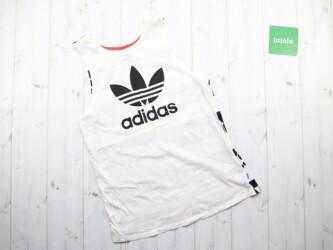 Женская майка Adidas,р.XS Длина: 66 см Пог: 43 см Пот: 43 см Материал