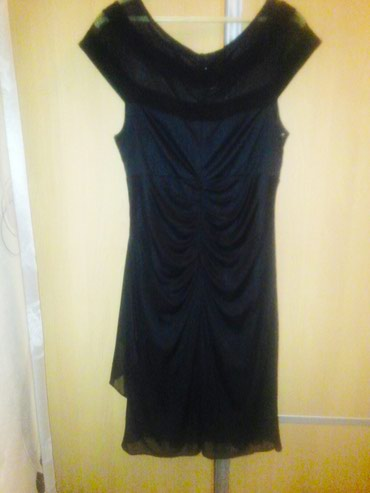 Нарядное черное платье .Очень в Бишкек