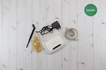 Компьютеры, ноутбуки и планшеты - Украина: Бездротовий маршрутизатор (модем) TP-LINK робочий   Колір білий Стан г