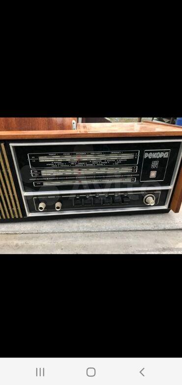 """Спорт и хобби - Ак-Джол: Продаю радиола """"рекорд-314"""" 1976гв рабочем состоянии!!!Бонус!!"""