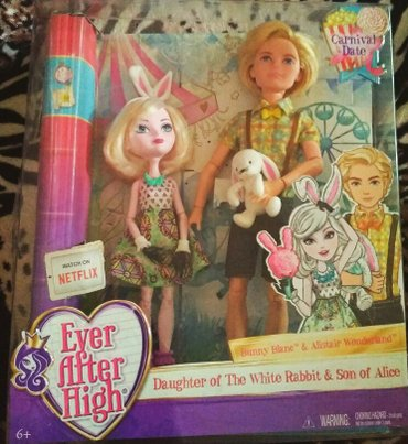 Куклы Ever After High ( Евер Афтер Хай), Bunny Blanc в Бишкек