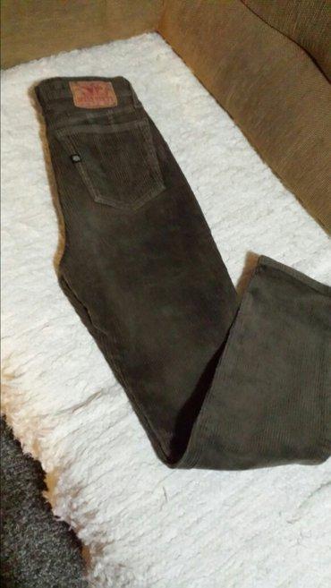 Pantalone miss ana - Srbija: Nove italijanske pantalone miss sixty od debelog somota sa elastinom