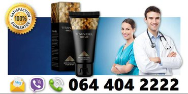 Titan Gel Gold za povećanje penisa prirodnim putem - Belgrade