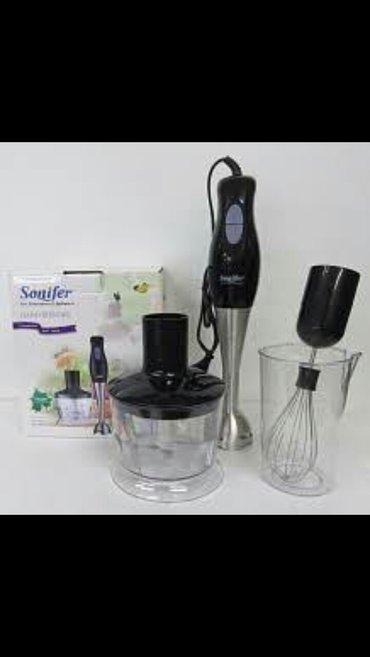Bakı şəhərində Sonifer blender model sf-8012,el  blenderi dograyici ile