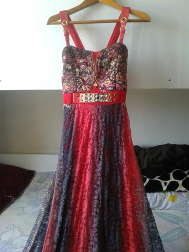 платья длинные на лето в Кыргызстан: Платье длинное на лето, почти новое. торг.воз.н