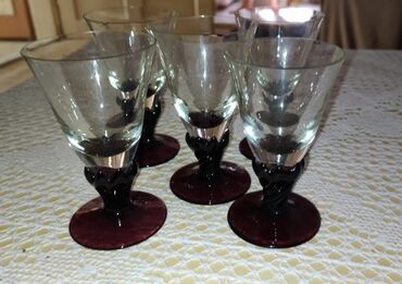 Rakija - Srbija: Čašice za rakiju, nekorišćene