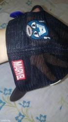 """Отдам за  Кока- Колу 2л!!!Кепка из мультика Marvel"""" Капитан Америка""""из в Лебединовка"""