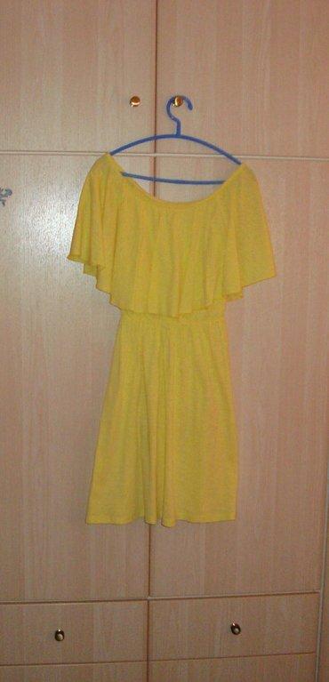 Φορέματα κίτρινο + μπλε , s/m, ελάχιστα σε Acharnes