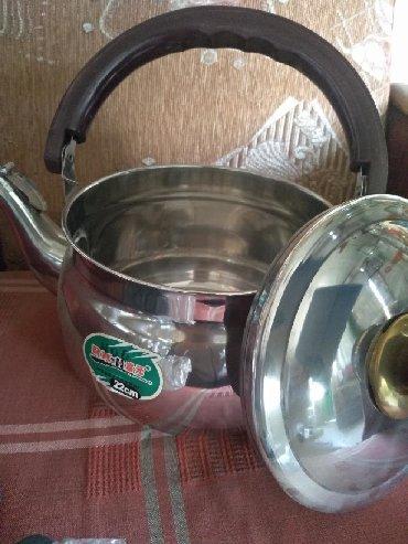 чайники разные цвета в Кыргызстан: Чайник железныйНовый, не использованный, объемный,Удобный для