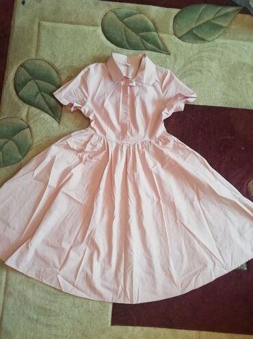 хб платье в Кыргызстан: Ткань 100%хб,платье рубашка