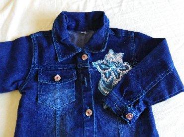 Dečije jakne i kaputi | Sopot: Decja teksas jakna NOVOO broj 2