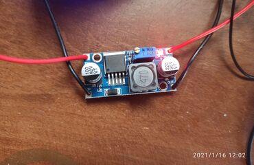 зарядное устройство 18650 в Азербайджан: Lm2596 Dc-Dc step down.gərginlik düşürücü.Giriş Dc 4.75v-23v Çıxış