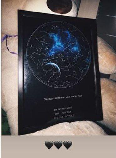 украшения к 8 марта в Кыргызстан: Звездная карта неба- самый запоминающийся подарок для вашего близкого