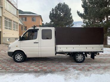 mercedes truck в Кыргызстан: Продаю Mercedes Benz SPRINTER Дубль Кабина  Год :1999год Объём: 2.9 TD