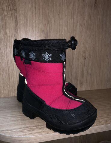 Детские финские зимние сапоги kioma на девочку 26 размер почти новые