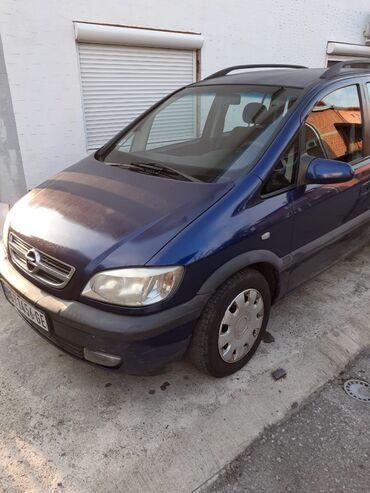 Opel | Srbija: Opel Zafira 1.9 l. 2003 | 250000 km