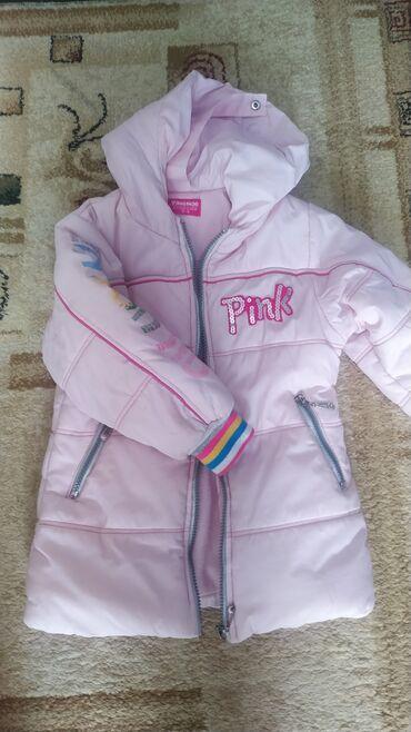 кожаная куртка мужская купить в Кыргызстан: Классная курточка на весну осеньНа 2-3 года, фирменнаяКуртка на