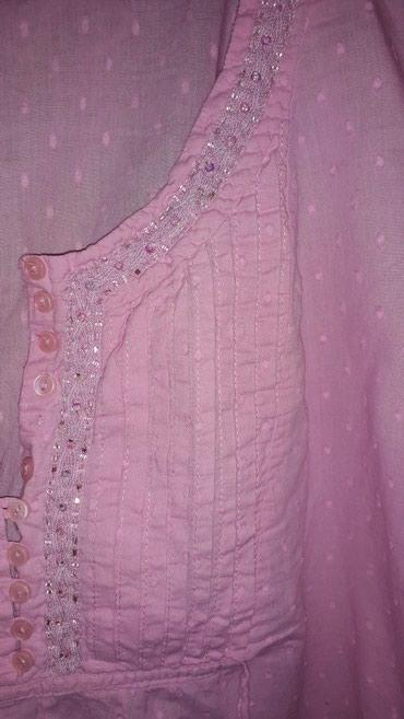 Kosulja prelepa,bebi roze boja,za krupnije devojke,na vise komada - Backa Palanka