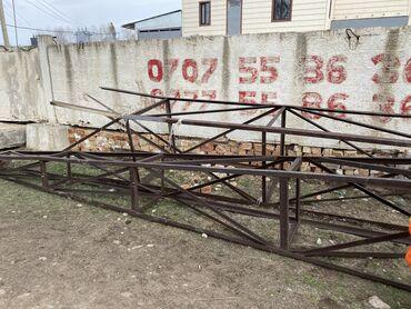 Металлопрокат, швеллеры - Металлопрофиль - Бишкек: Металлопрофиль, Уголки