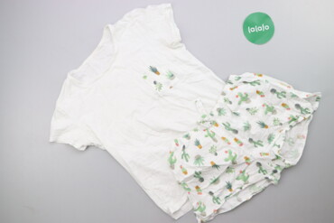 Жіноча піжама з принтом р. XS    Довжина футболки: 54 см Ширина плечей
