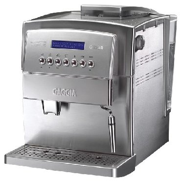 Кофемашина Gaggia Titanium при своих относительно компактных габаритах