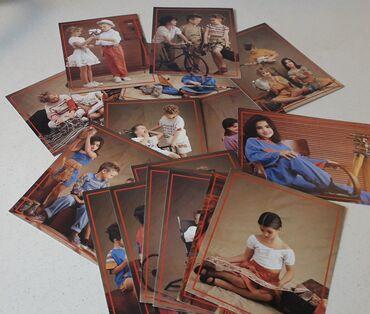 16 ευχετήριες κάρτες from Alouette, άγραφες