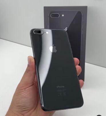 Продаю Айфон 8 +Черный 64 гб Комплектации нет Состояние аккумулятора
