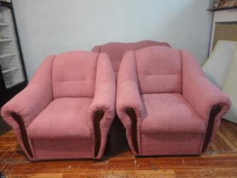Перетяжки мягкой мебели замена ткани по вашему вкусу замена в Бишкек