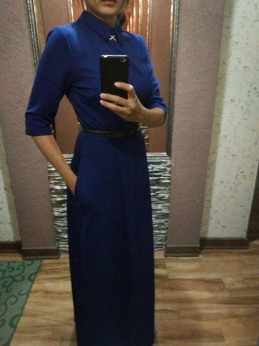 Платье новое в пол, с ремешком на в Бишкек