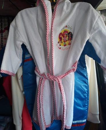 Bade mantil za devojčice od 0-3 godine. - Novi Sad