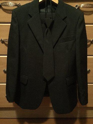 Пиджак школьный - Кыргызстан: Школьная форма б/у, на 2 класс. Пиджак, жилет, брюки, галстук