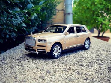 avto möhlətlə - Azərbaycan: Model Rolls Royce Cullinan  Ölçü:1/32