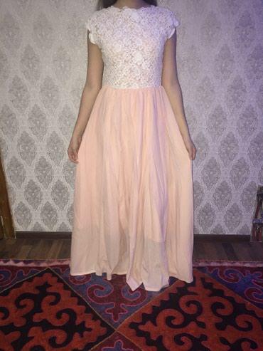 Красивое платье,44-46 размер,сшили на в Бишкек