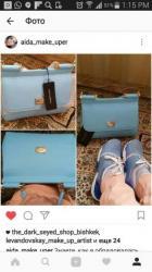 аялзат в Кыргызстан: Продам сумку Дольче Габанна голубого цвета. 7000 сос