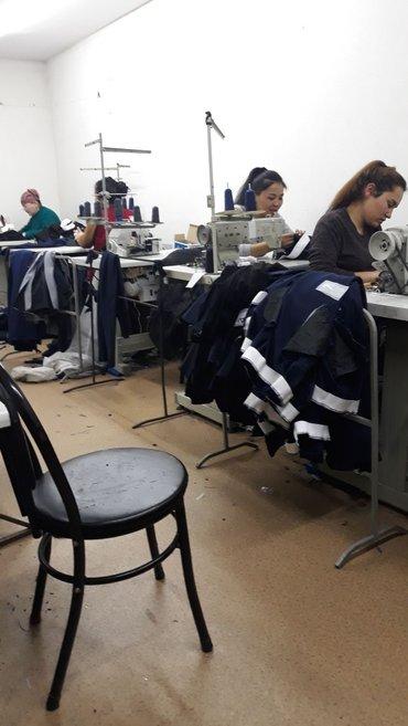 требуется швеи-  зарплата высокая  спортивки трико толстовки шием. Адр в Бишкек