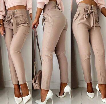 Zenske pantalone NOVO!*Nova Kolekcija *Dostupne boje : crna, krem