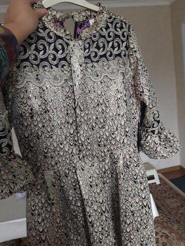 нарядные платья на свадьбу в Кыргызстан: Платья парча нарядное на кыз узатуу можно одеть.одевала 1 раз на